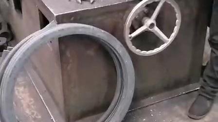 扁铁法兰自动卷圆
