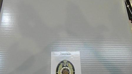 一款精工音乐挂钟的包装