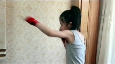 拳击小萝莉,未来的世界冠军!