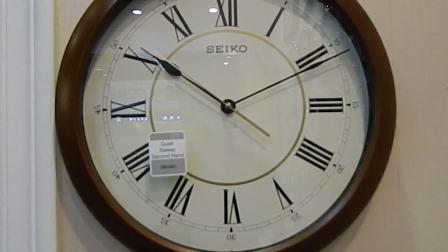 精工Seiko简欧风格客厅挂钟 北京卖挂钟的地方