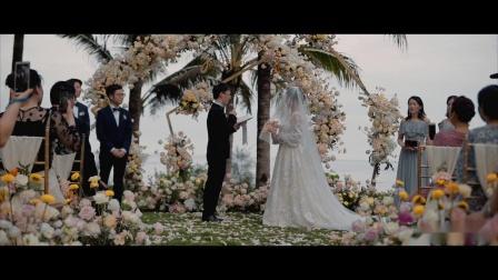 """Matchmax(麦弛)作品:""""爱情最好的模样是陪伴""""三亚婚礼"""