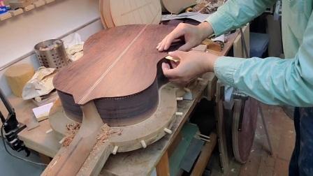 古典吉他合琴步骤 小蒋手工吉他制作视频