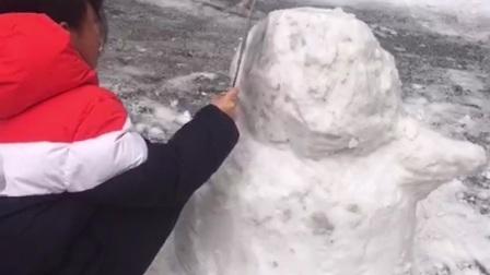 2021年 堆雪人