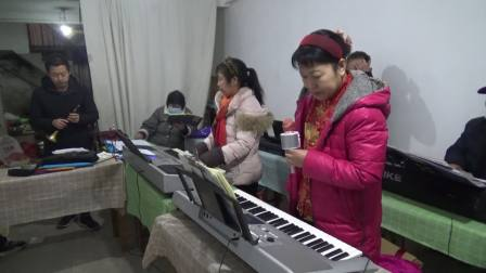 鹤壁市电子琴、唢呐合奏相册留念歌曲:荷塘月色