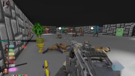 老版德军总部3D 八人通关使命召唤12僵尸模式