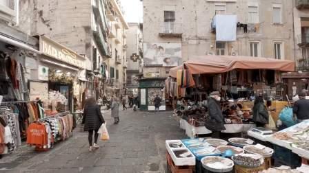 意大利 那不勒斯 散步 Naples Christmas Alley & Historic Center Walk