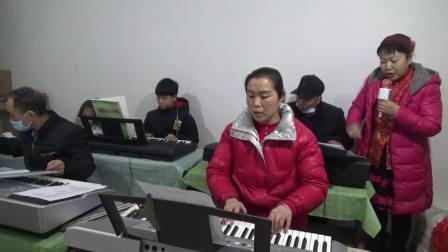 鹤壁市电子琴班部分学员毕业相册留念歌曲:我和我的祖国