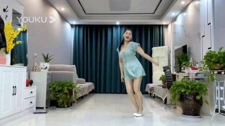 我在网红舞《思念绕指尖DJ》附分解截了一段小视频