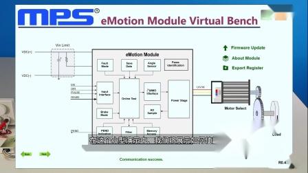 MPS视频:采用高性能直流无刷电机控制线性驱动器