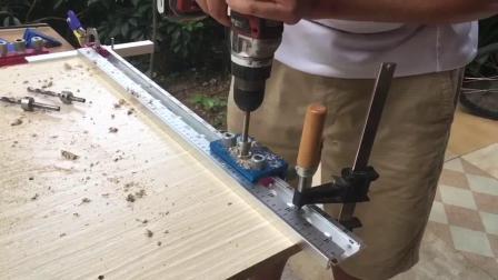 木工板式家具三合一打孔器-芳村木友
