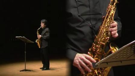 Nobuya Sugawa plays J.S.BACH Saxophone Solo Recital