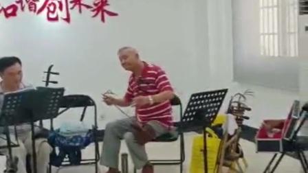 """现代京剧《龙江颂》选段""""面对着公字闸~"""""""