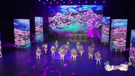 """江西省""""追梦少年""""少儿舞蹈大赛《我家住在桃花山》---贝筱贝舞蹈艺术中心"""