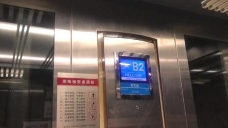 长沙万达广场1号观光电梯8