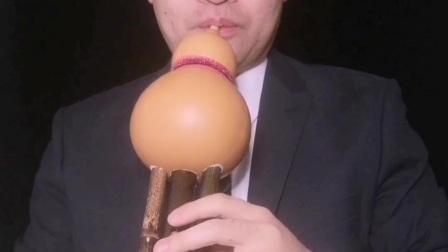 单吹嘴双主管葫芦丝