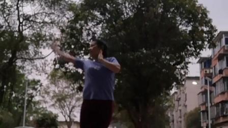 学跳静静老师的舞蹈《凤凰花季》