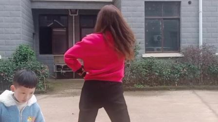 抚州雨欣缘健身舞《听心》背面完整版