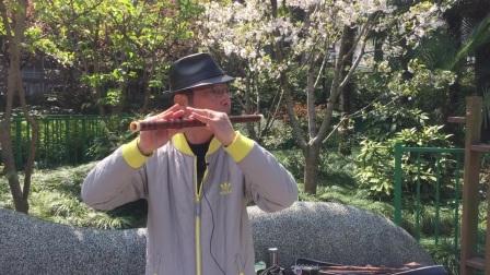 笛子独奏【渭水秋歌】 宜川公园 作曲:王相见 摄影:章银妹 制作演奏:滕宝华 2021年3月26日