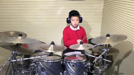 博鼓通今:学生刘泽华《回忆》Drum cover