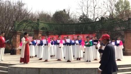庆祝亲青毛妹舞蹈队九周年纪念日 诗朗诵 我们是亲青毛妹舞蹈队