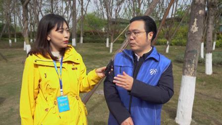 中国水利报在水日水周直播采访四川省生态文明促进会秘书长曹鹤舰