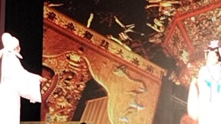 台州市椒江越艺越剧团玉蜻蜓熊莲芬石莲莲,三门县泗淋乡下山村,2021年3月31日下午