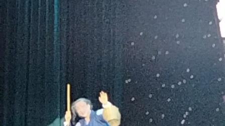 临海市华众越剧团祥林嫂小旦王文波,临海市桃渚镇四岔万兴村,2021年3月初晚上