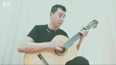 适适合初学者的吉他曲一一桥边姑娘