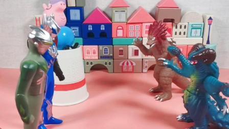 少儿玩具:奥特曼和怪兽