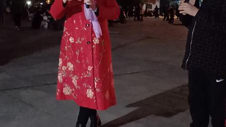 洪塘广场;信月;丽娟;唱送王郎2021.3.6日