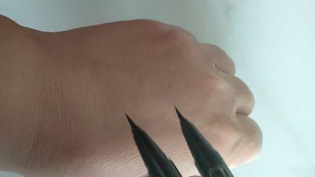 这眼线笔这么干能用吗?