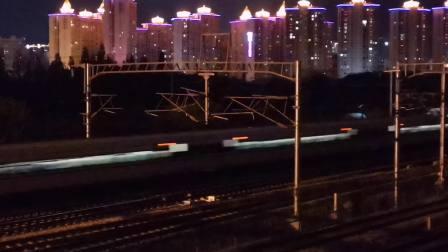 20201006 205605 西成高铁G349次列车高速通过汉中站