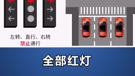 很多地方已经更换了新版红绿灯,一共8种组合,你看懂吗?