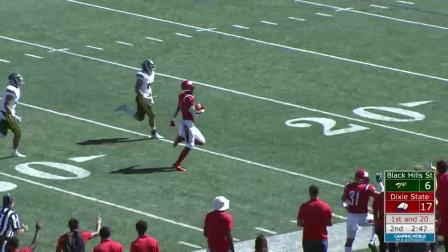 2019赛季NCAA Dixie State vs Black Hills State