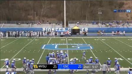 2021年春季NCAA第7周West Virginia State vs Glenville State