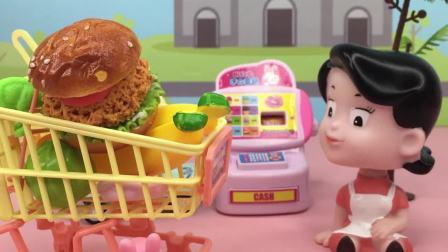 乔治逛超市都买了什么