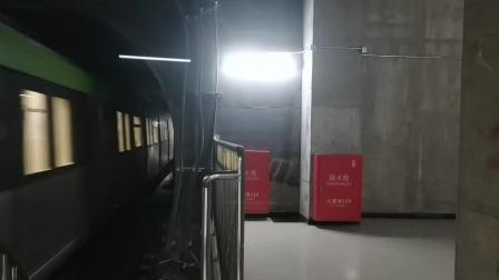 【2021.1.3】 北京地铁16号线—301(北安河方向)国家图书馆进站