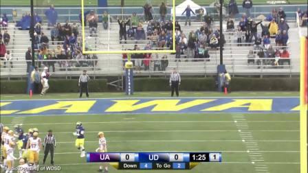 2015赛季NCAA 特拉华大学vs阿尔巴尼大学