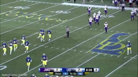 2015赛季NCAA 特拉华大学vs詹姆斯麦迪逊大学