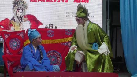 """古装黄梅戏《香宝救嫂》东至县""""送戏进万村""""胜龙剧团演出  摄像:周神武"""