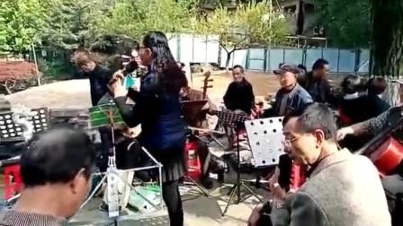 2021年4月10日、中山公园佩佩唱《三看御妹》美林上传