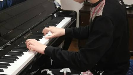 音乐学院附中,考试曲目练习。