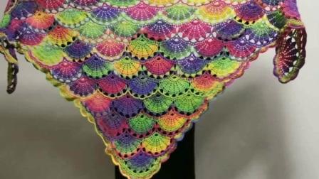 紫薇披肩学员作品分享欣赏