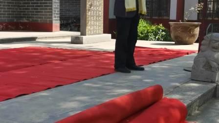 """季春三日在山东临沂""""二十四孝""""之王祥故里举行祭祀活动"""