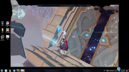 (海强)原神 0命魈加4命女仆打90级冰和水副本视频