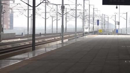 2021年3月5日,G115次(北京南站-上海虹桥站)本务中国铁路北京局集团有限公司天津动车客车段天津动车运用所CR400BF-5028+5029苏州北站通过