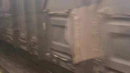 2021.4.14 乘坐CRH2-D3561次 尾随货列接近柳州站停靠 会双HXD3C单机