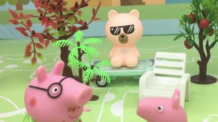猪爸爸不想让乔治养宠物