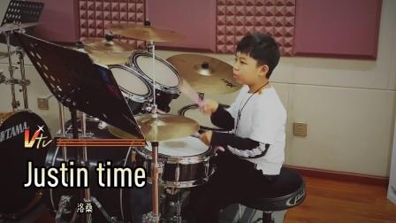【架子鼓】《Justin time》洛桑小鼓手