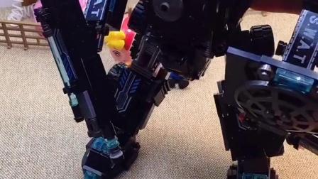 跳舞机器人不仅跳舞厉害,变身后更厉害!